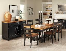 Distressed Black Kitchen Table Oak Dining Room Table Chairs Marceladickcom