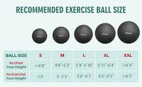 Yoga Ball Size Chart Trideer Exercise Ball Multiple Color Yoga Ball Birthing Ball With Quick Pump Anti Burst Extra Thick Heavy Duty Ball Chair Stability Ball