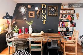 eclectic dining room designs. a richly eclectic dining room plays host to whole menagerie of furniture and accessory styles designs