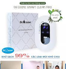 Máy khử mùi khử trùng nhà vệ sinh DrOzone Smart Clean Pro khử trùng phòng  diệt khuẩn diệt virus 10 m2 - 25 m2 - [ HSVN Global ]
