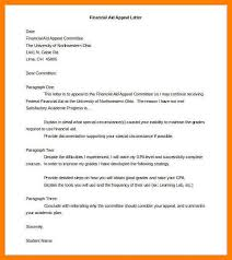 sample letter for financial aidsample appeal letter sample 8 appeal letter sample coaching resume