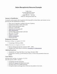 Receptionist Resume Sample Awesome 27 Beautiful Graph Medical