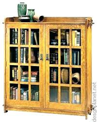 oak bookcases with doors bookcase glass door bookcases with doors oak classic bookcase glass door small