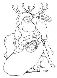 Show them the proper way how to color. Free Printable Reindeer Coloring Pages For Kids