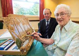 Staying young is an art for 90-year-old Enniskillen woman Jean McFarland |  Impartial Reporter