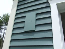 pvc fixture mount on exterior siding