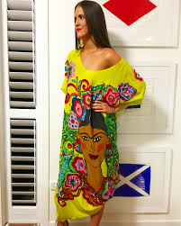 Frida Kahlo Kaftan Available For Pre Order By Emailing Kgw_85