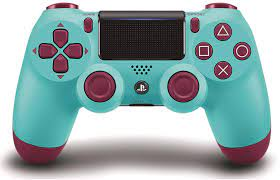 DualShock 4 Wireless Controller for PlayStation 4 - Berry Blue: Amazon.de:  Games