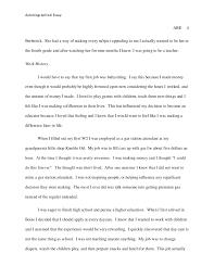 autobiographical essay 4 autobiographical essay