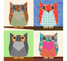 Owl paper pieced quilt block pattern PDF. (Inspiration for my ... & Owl paper pieced quilt block pattern PDF. (Inspiration for my newest bee I  just Adamdwight.com