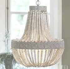 how to make beaded chandelier anvers wooden bead chandelier by horsfall wright with regard to wooden