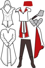 Assassin's Creed Costume Pattern