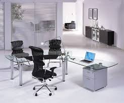 contemporary glass office. chicago proust b modern glass desk offices contemporary office s