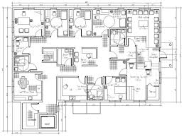 do interior exterior and 2d floor plan with autocad