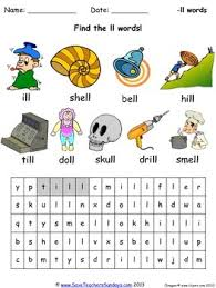 Click on the category or resource type. Ll Phonics Worksheets Activities And Other Teaching Resources Tpt