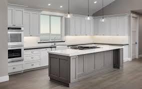 elegant cabinets lighting kitchen. Elegant Kitchen Design With Pendant Lighting And White Forevermark Cabinetry Under Cabinet Island Superwhite Granite Cabinets