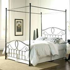 Full Size Canopy Bed Rustic Full Size Bed Large Size Rustic Full ...