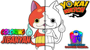 Watch yo kai coloring pages sketch coloring page. Yo Kai Watch Komasan Speed Coloring Yo Kai Watch Speedpaint Coloring Page For Kids Youtube