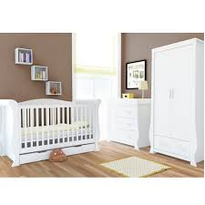 Babystyle Fresh White Hollie 3 Piece Furniture Set