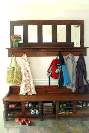 Coat Rack With Bench Seat Magnificent Coat Rack With Shoe Storage Shoe And Coat Rack Bench Well Suited