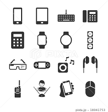 Technology Device Iconsのイラスト素材 18941753 Pixta
