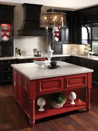 10 Ways To Color Your Kitchen Cabinets. Red BlackBlack ...