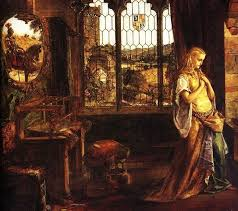the lady of shalott paintings