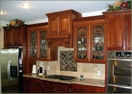 kitchen cabinet glass inserts leaded kitchen cabinets liquidators atlanta ga