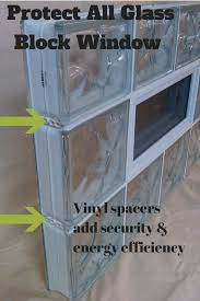 protect all glass block window for security and energy efficiency