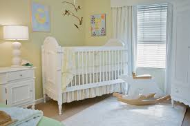 baby room in neutral colors