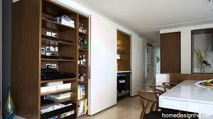 Hidden Kitchen Small Space Solutions Hidden Kitchen From Minosa Design Hd Youtube