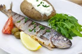 fish and potatoe