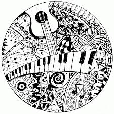 Tree coloring pages for toddlers mhts9. Adult Coloring Pages Music Coloring Home
