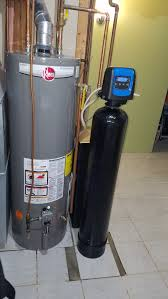 rheem water heater 40 gallon. water heater installation. new softener. rheem 40 gallon