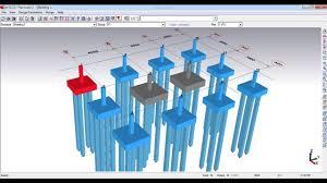 Pile Group Design Afes Foundation Design Software Pile Cap Design Builiding Project Civil Engineering