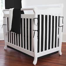 labels black crib bedding