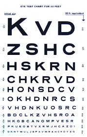 Eye Chart Template Download Snellen Chart Template Printable Coloring Pages For Kids