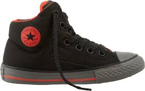 converse for kids. converse kids\u0027 grade school chuck taylor all star high street shield hi-top casual shoes for kids