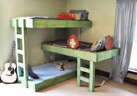 Bunk beds are, by definition, great space-savers, especially in the kids