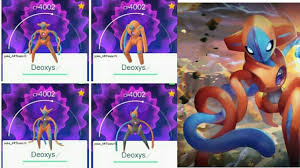 Deoxys Will be the New Ex Raid Boss in Pokemon Go   Deoxys Coming to Ex  Raids in Pokemon Go - YouTube