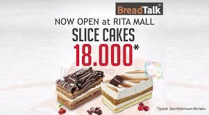 Infopromo Breadtalk Rita Supermall Tegal Opening Promo Harga Spesial