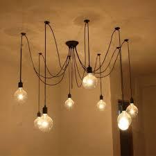 <b>Modern Nordic</b> Retro Light <b>Spider</b> Chandelier Ceiling Lamp Vintage ...