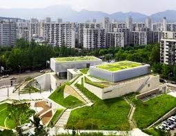Walkable Green Roof Buk Seoul