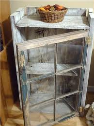repurposing old windows with old barn wood to make a little cabinet barn wood ideas barn