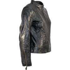richa lausanne las leather motorcycle jacket womens street