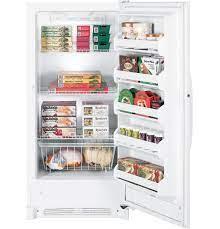 GE® 13.7 Cu. Ft. Frost-Free Upright Freezer - FUF14SVRWW - GE Appliances