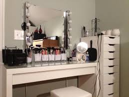 picture of glass vanity table