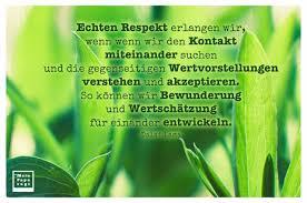 Echten Respekt Erlangen Wir Wenn Wenn Wir Den Kontakt Miteinander