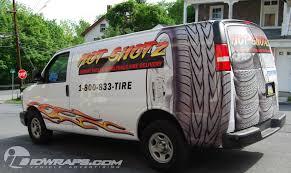 Hotshotz Tires Van Wrap Cargo Delivery Allentown Pa Id