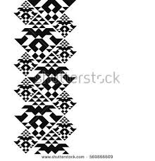 navajo tattoo designs. Tattoo Belt. Tribal Card In American Indian Style. Seamless Border For Design. Ethnic Navajo Designs I